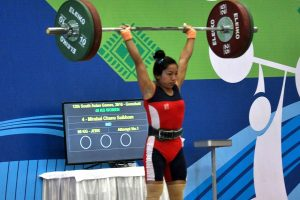 Mirabai Chanu maintains 8th spot in Olympic qualification rankings