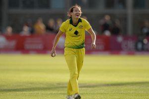 Megan Schutt becomes first Australian woman to take ODI hat-trick