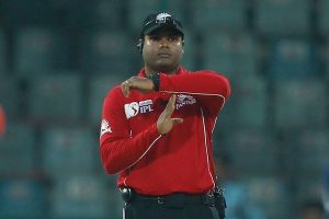 Umpire Nitin Menon set for Test debut in November
