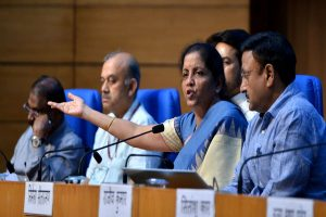 Finance Minister Nirmala Sitharaman announces measures to promote growth in exports and housing sectors