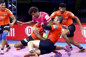 PKL 7: U Mumba thrash Jaipur Pink Panthers; Gujarat Fortunegiants beat Bengaluru Bulls