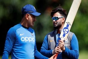 Rishabh Pant refers to Dhoni as his favourite batting partner
