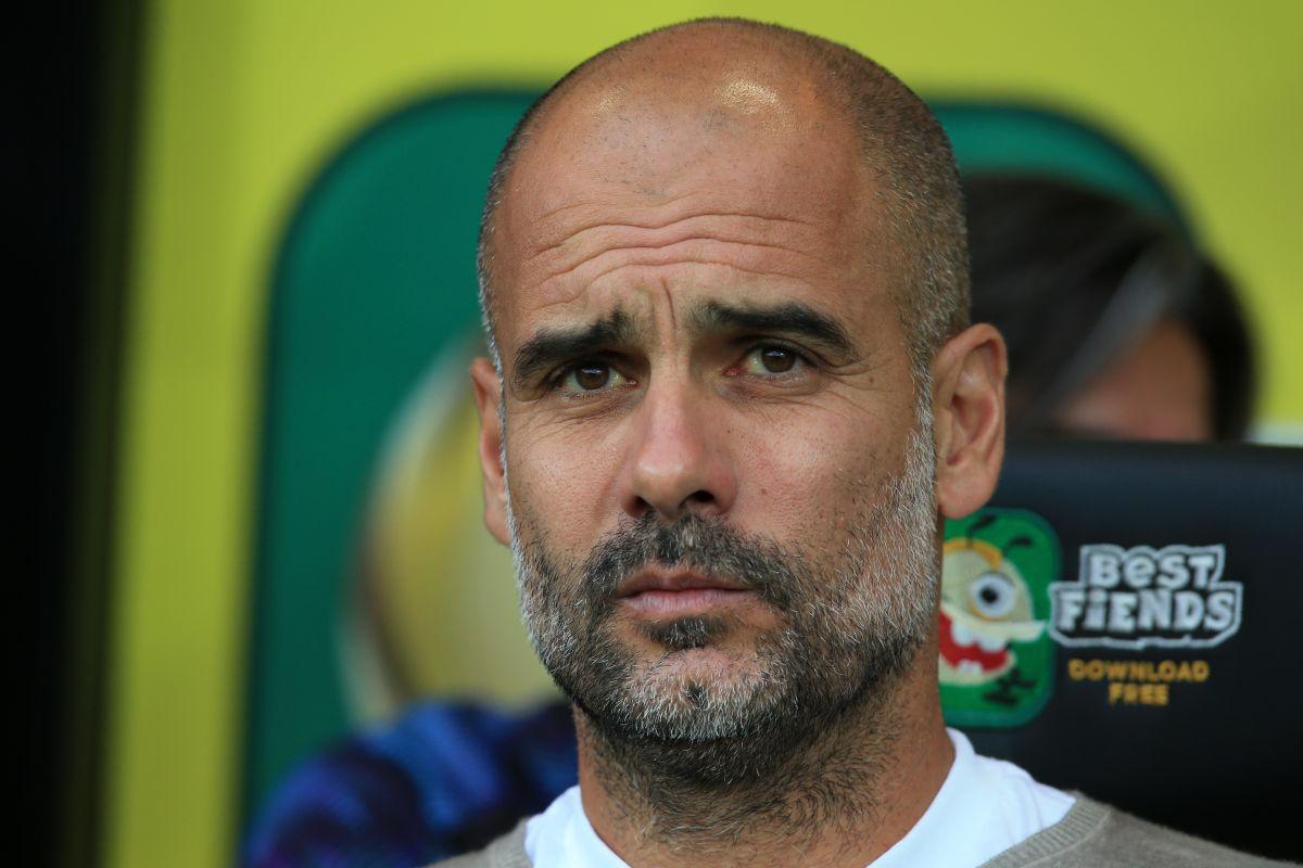 Pep Guardiola, Norwich City, Manchester City, Aymeric Laporte,