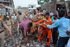 23 dead in blast at illegal firecracker factory in Punjab; PM condoles loss of lives