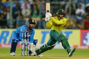 'Our intensity in the field was really good', says Quinton de Kock after defeating India