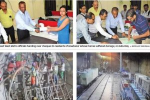 Bowbazar mishap: KMRCL gives compensation to evacuated families