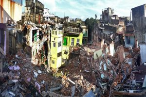 Bowbazar disaster displaces 57-yr-old Durga Puja venue