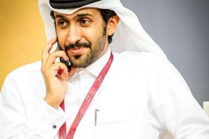 Hassan-al-Mannai in India to produce a Bollywood project