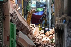 One year after Bowbazar cave-in, KMRCL clueless on future of evicted families