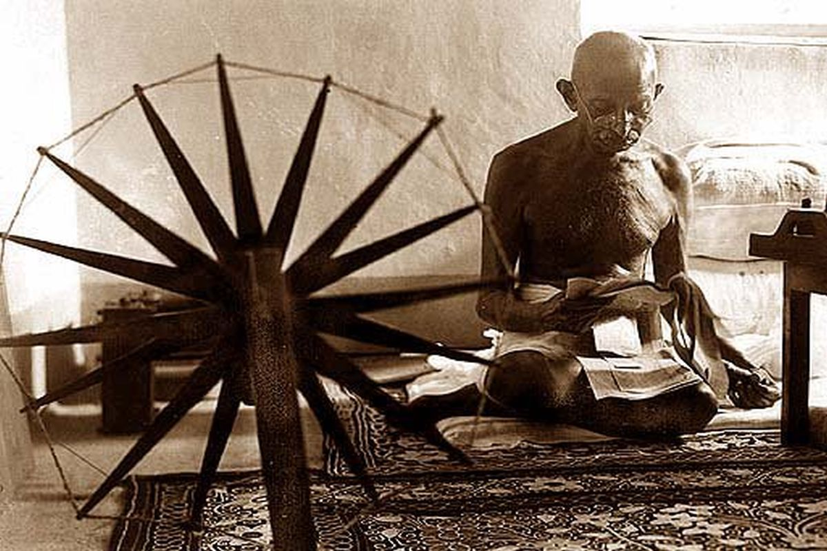 When Gandhiji spoke to us, Gandhiji, Calcutta, South Africa, The Statesman, The Englishman