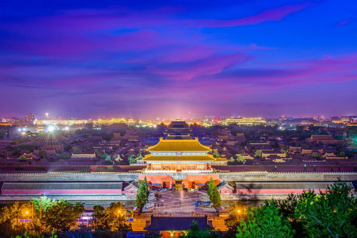Beijing's blue skies