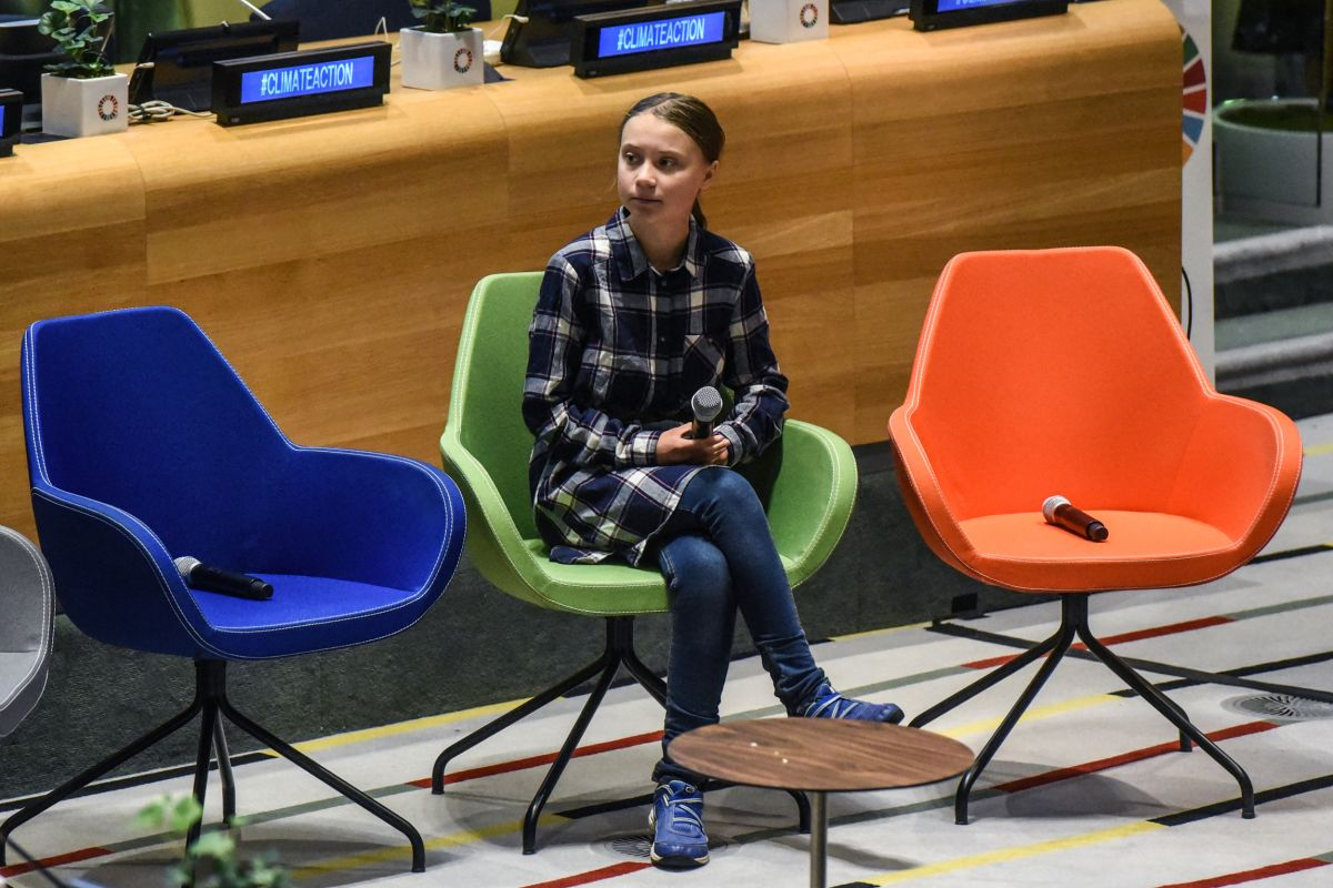 Youth leaders at United Nations  demand bold climate change action