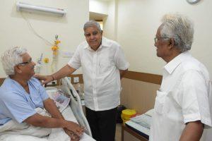 West Bengal Governor meets Jadavpur University Vice Chancellor