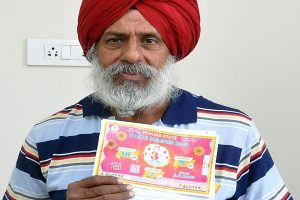 63-year-old from Patiala wins Rs 1.5 crore lottery