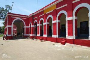 Malda's oldest station building Rajmahal restored