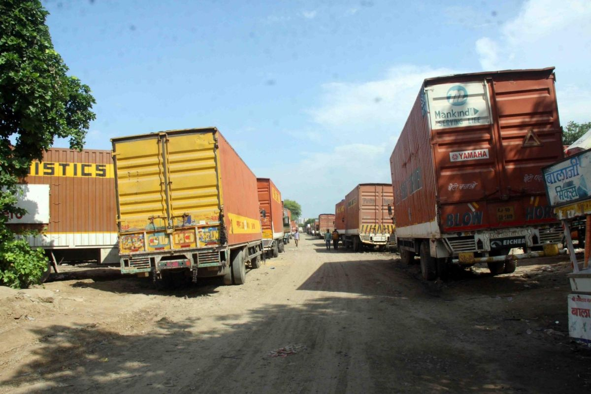 Truck in Odisha fined Rs 6.53 lakh
