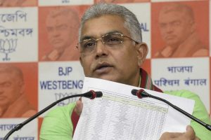 Mamata Banerjee behind panic deaths: Dilip Ghosh