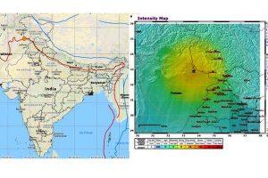 Earthquake of 6.3 magnitude hits Delhi, north India, epicentre in Pakistan