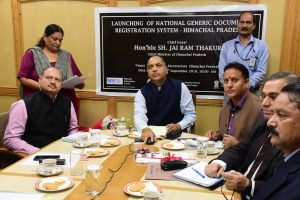 HP CM launches NGDRS to reduce land, revenue litigations