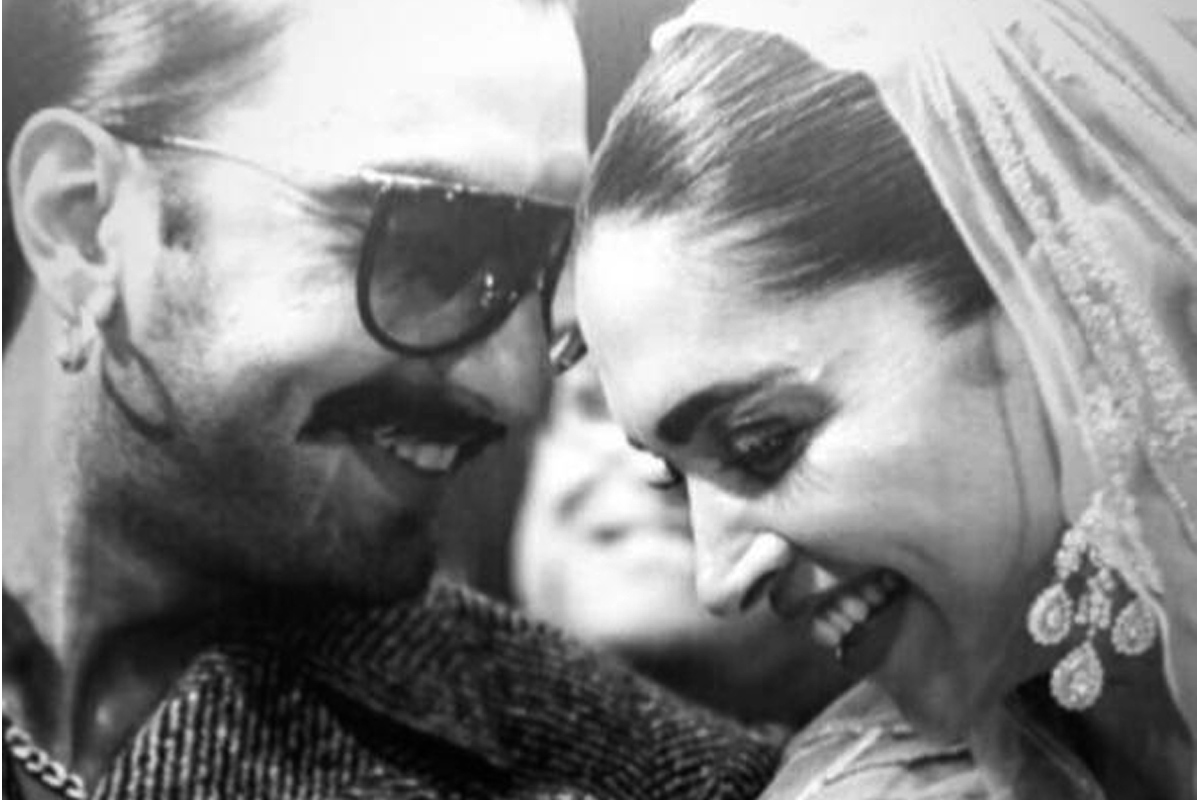 Ranveer Singh shares romantic photo with Deepika Padukone