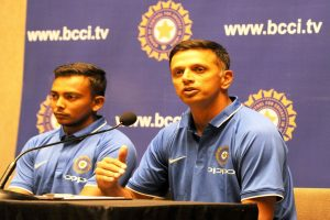 ICC goofs up, calls Rahul Dravid left-handed batsman in Hall of Fame