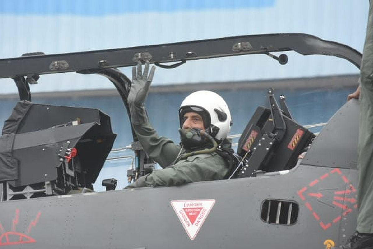Rajnath Singh 'thrilled', says Tejas sortie was smooth, 'controlled' jet briefly