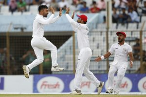 Rashid Khan spins Afghanistan to historic Test win