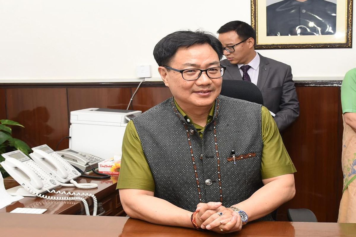 Kiren Rijiju writes to UK MP, urges personal intervention to include shooting in 2022 CWG
