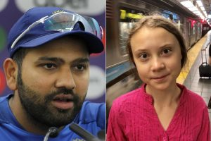 You're an inspiration: Rohit Sharma lauds 16-year-old climate activist Greta Thunberg