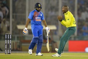 Opener Rohit Sharma dismissed for duck in tour game