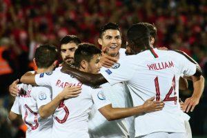 Ronaldo scores four as Portugal crush Lithuania 5-1