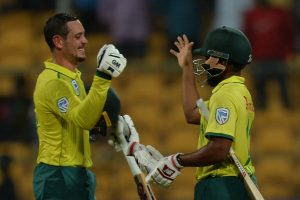 South Africa defeated India by 9 wickets in 3rd T20I, level series 1-1