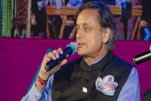 'Praising Modi' misreports irritate him, says Shashi Tharoor