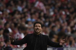 Diego Simeone not carried away with 'perfect' start, dismisses title talk