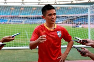 Since my debut, everyone in the team wants me to score: Sunil Chhetri