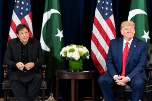 PM Modi's statement on Pak 'very aggressive', says Trump with Imran Khan by his side
