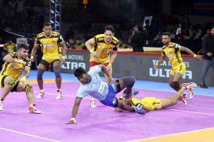 PKL 7: Telugu Titans beat Tamil Thalaivas 35-30; Haryana Steelers thrash Puneri Paltan 41-27