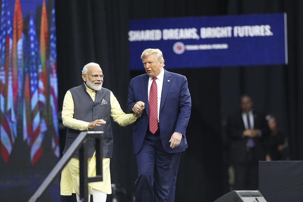 Now Kem Chho Donald, Motera stadium, Ahmedabad, United States, Donald Trump