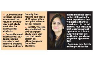 UK work visa move to benefit Indian students