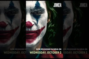 American psychological thriller 'Joker'  to release 2 days prior to aforementioned date