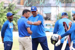 Rahul Dravid meets Indian players ahead of final South Africa T20I