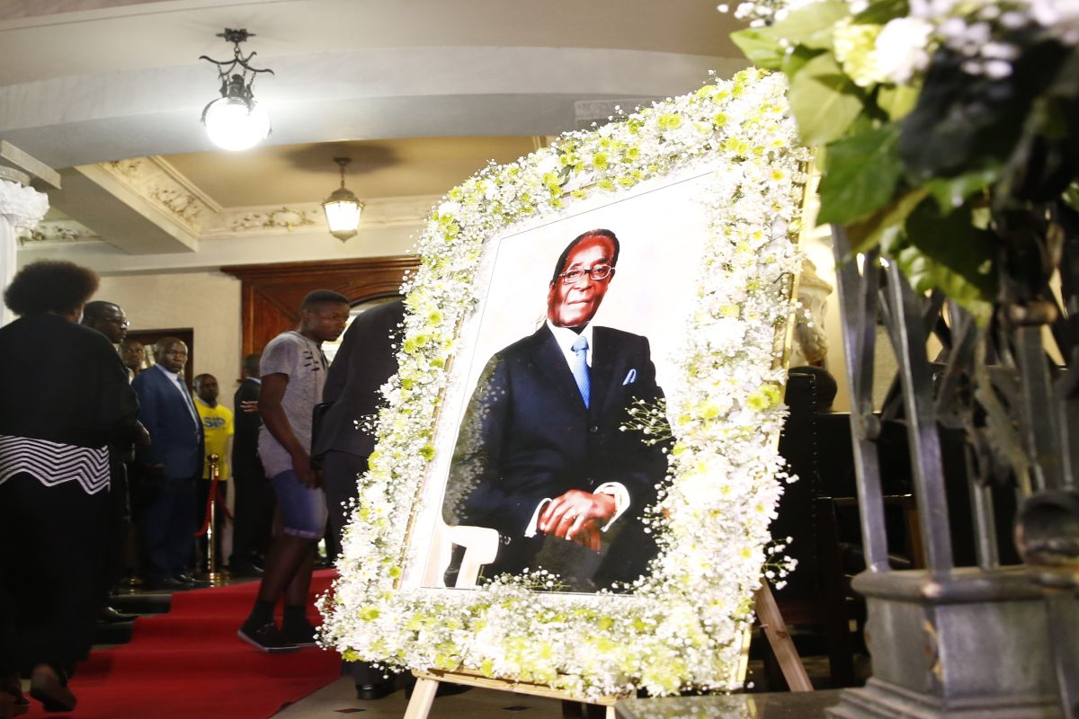 African leaders gather in Zimbabwe for ex-President Robert Mugabe's state funeral