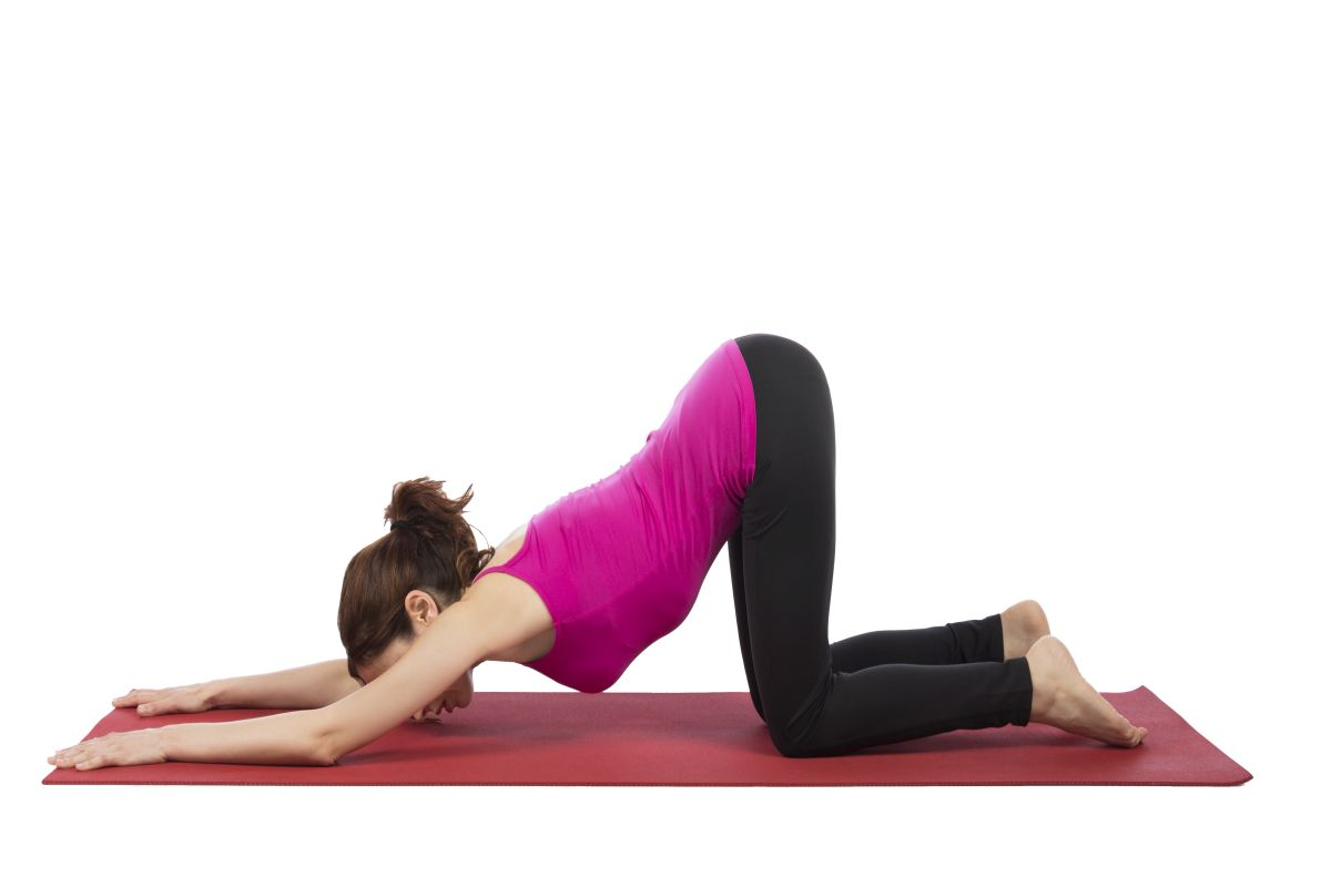 Stretching Exercises , Fitness, Flexibility, Muscle strain, Muscle injuries, Extended puppy pose, Neck release, Lunging hip flexor stretch, Triceps stretch,