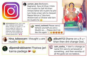 Sara Ali Khan trolled for celebrating Ganesh Chaturthi