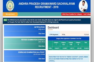 AP Grama Sachivalyaam answer keys 2019 released at gramasachivalayam.ap.gov.in   Direct link given here