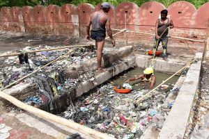 Four sanitation workers die cleaning septic tank in Bihar