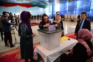 Voting underway in Afghan presidential election