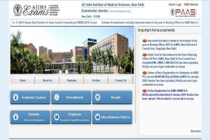 AIIMS Nursing Officer admit cards 2019 released at aiimsexams.org | Download now
