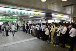 17,000 passengers stranded at Tokyo's Narita airport after Typhoon Faxai hits Japan