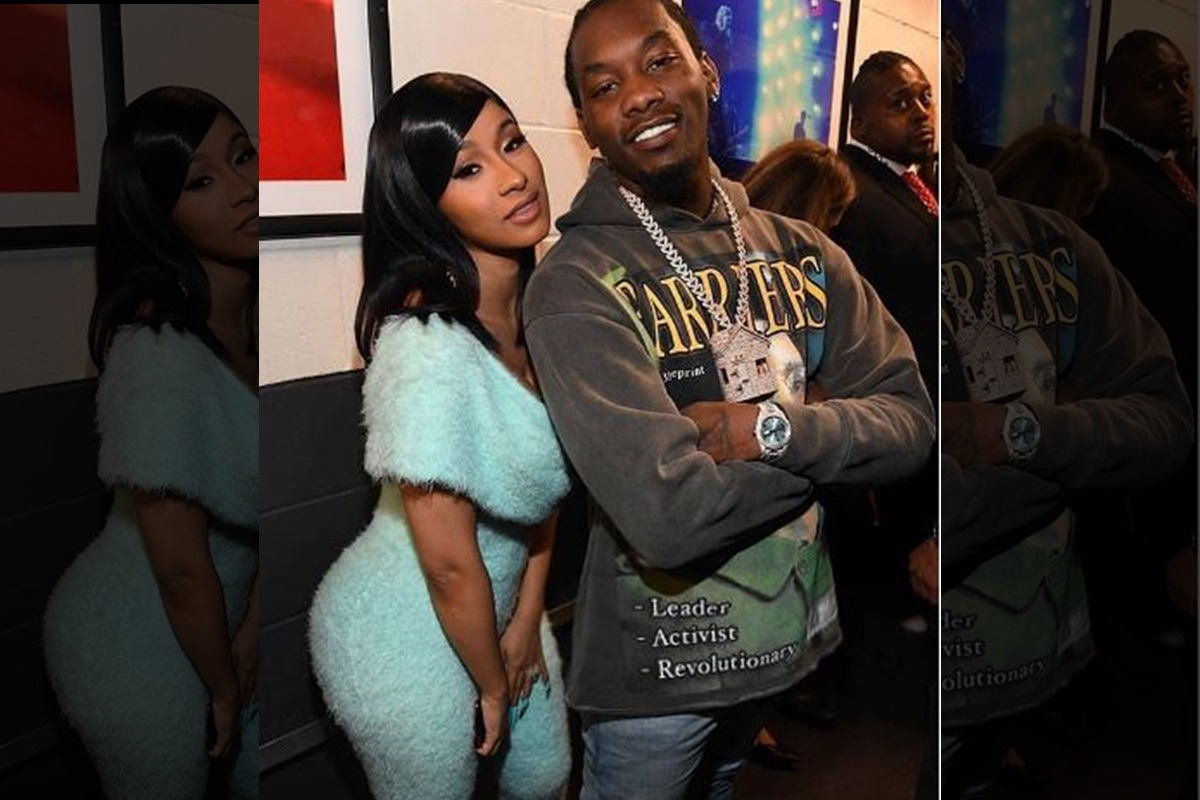Cardi B, Offset, Instagram, Wedding anniversary